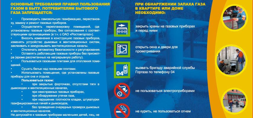 pravila polzovaniya gazom i gazovym oborudovaniem