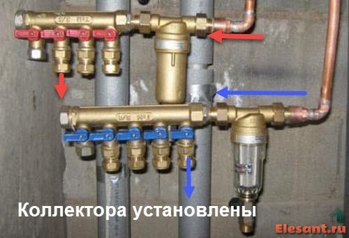 razvodka vodoprovoda v kvartire