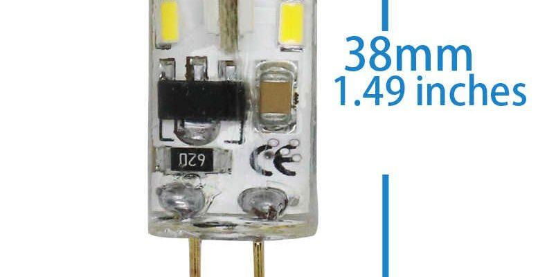 zamena galogenovyh lamp s czokolem g4 na svetodiodnye